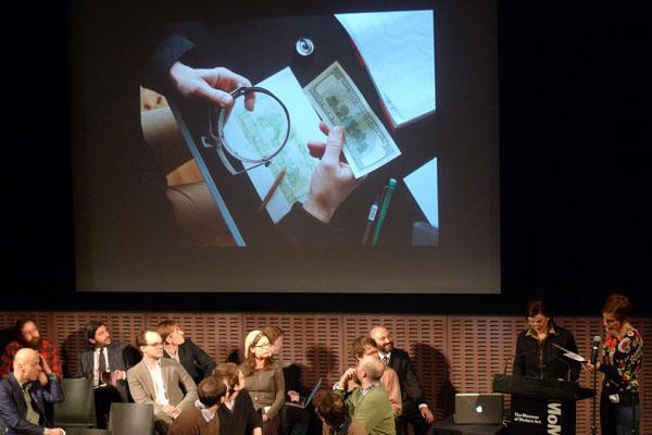 collective task @ MoMA, New York, 2012
