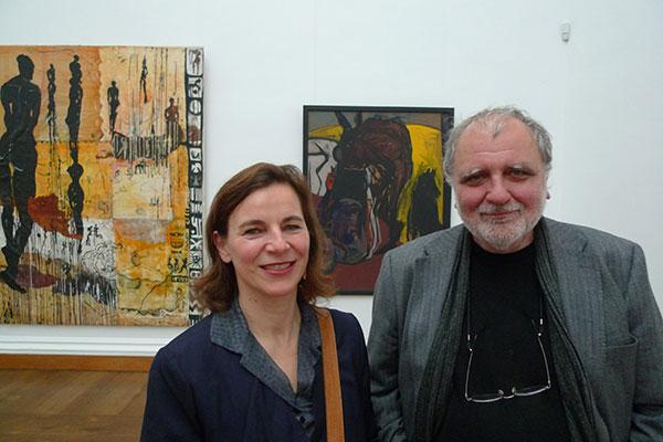 Abschied von Ikarus, Neues Museum Weimar, 2012, SH mit Matthias Flügge