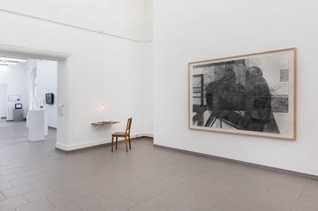 Sabine Herrmann, Haus am Kleistpark, HEUTE HIER – bugün burada, 2013