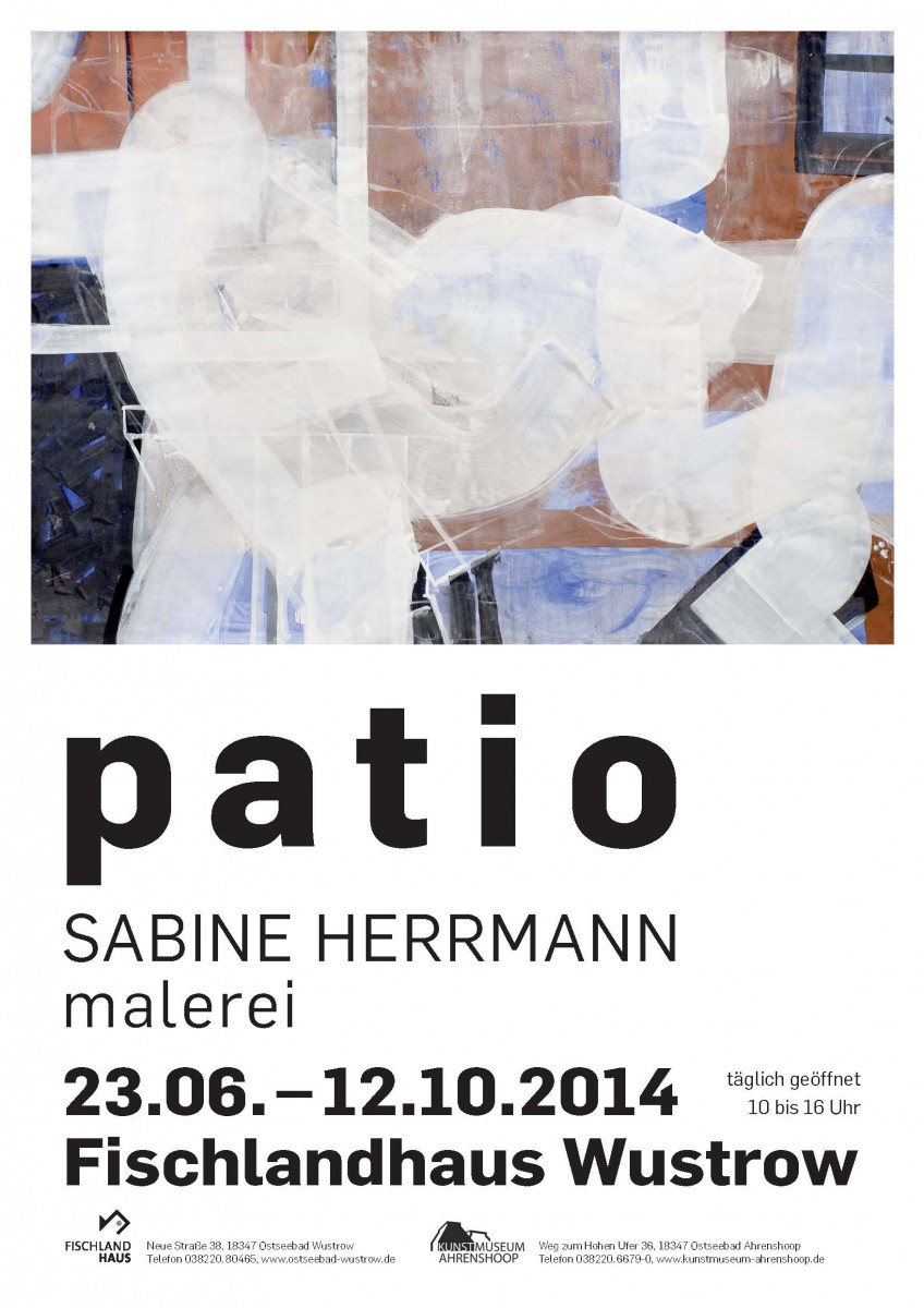 Sabine Herrmann, Patio, 2014