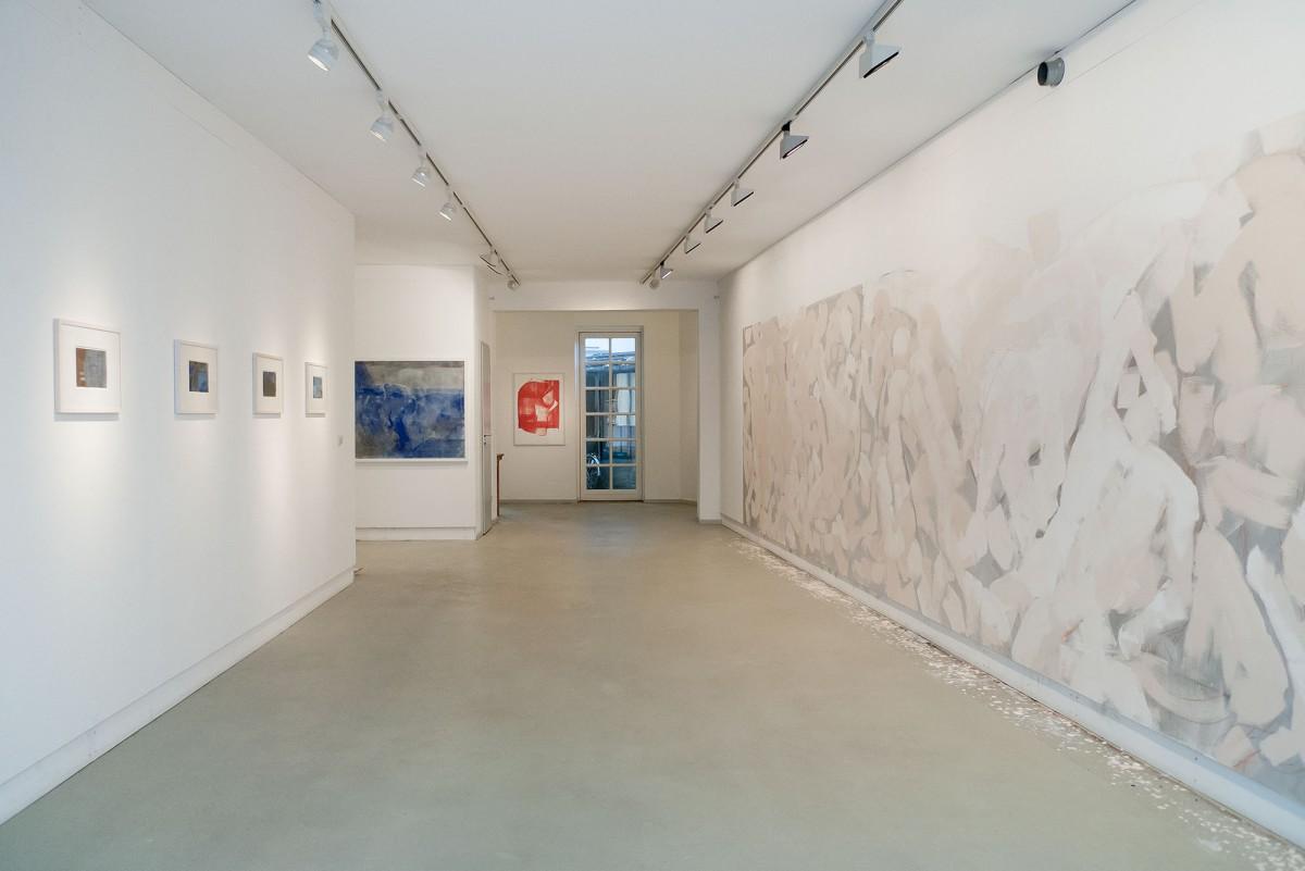 Sabine Herrmann | Bayon, 2014, Galerie Wolkenbank, Rostock