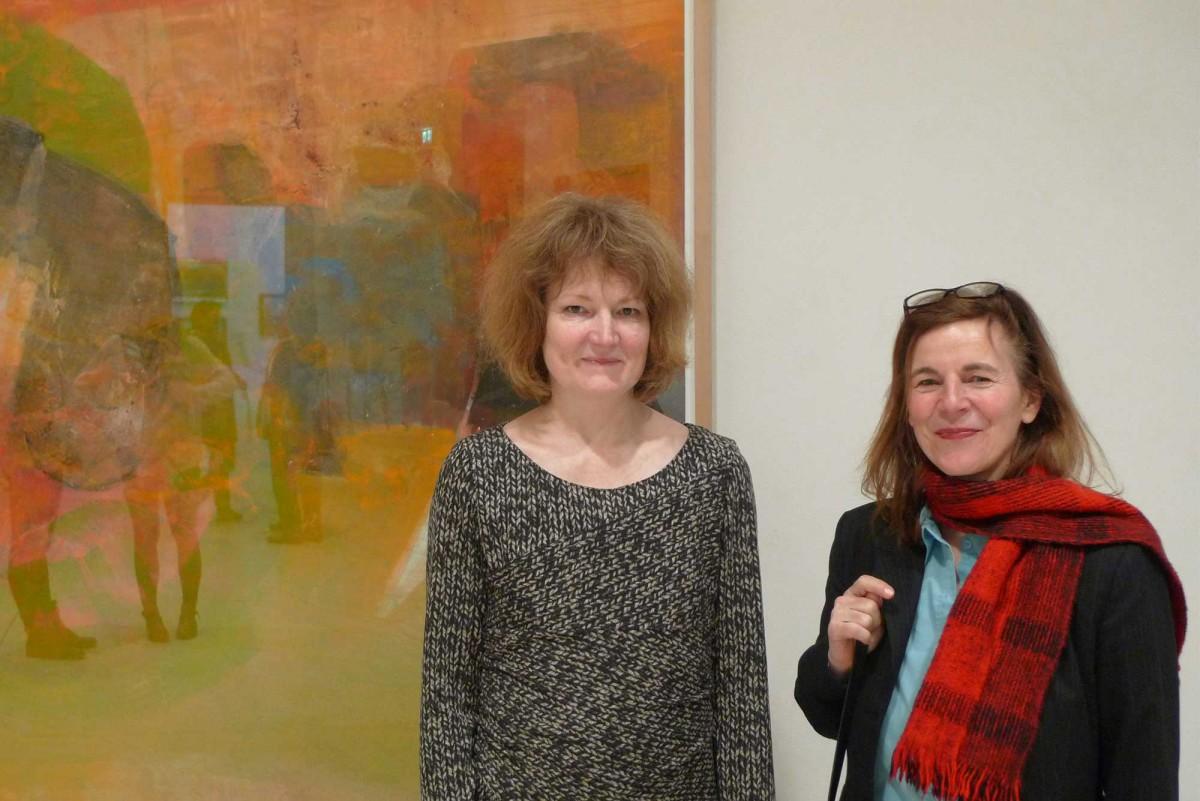 Künstlerische Leiterin Dr. Katrin Arrieta und Sabine Herrmann