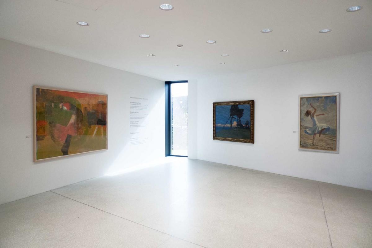 """Kunstmuseum Ahrenshoop, Sabine Herrmann, """"Toulouse"""""""